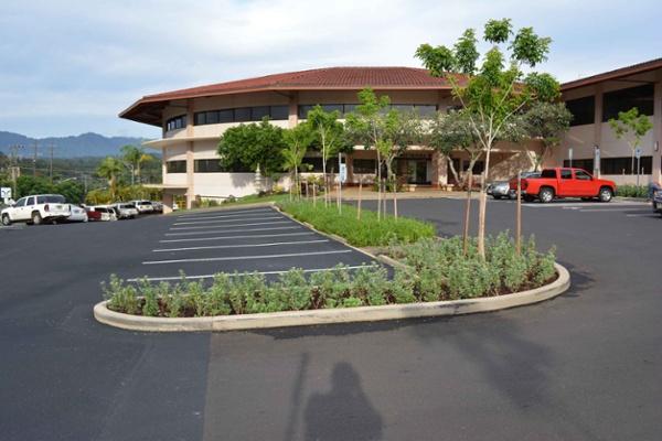 lihue civic center landscaping in kauai, hi