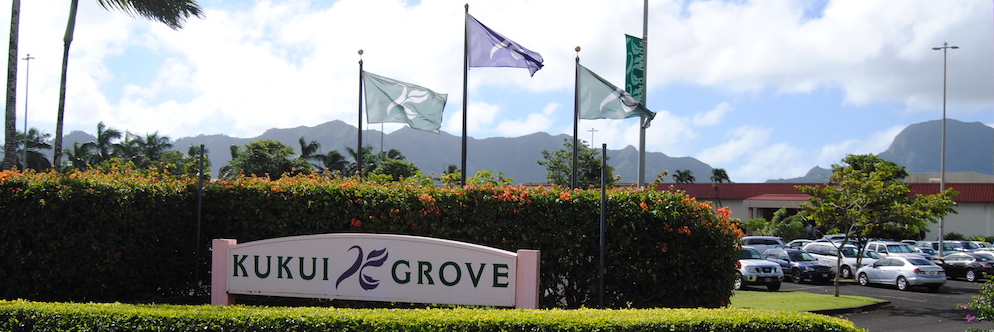 Kukui Grove Center is the Island of Kauai's largest retail center and only regional mall.