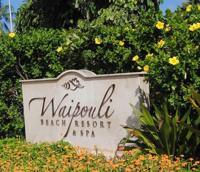 Waipouli Beach Resort & Spa is a 13-acre beachfront property on Kauai's eastside.