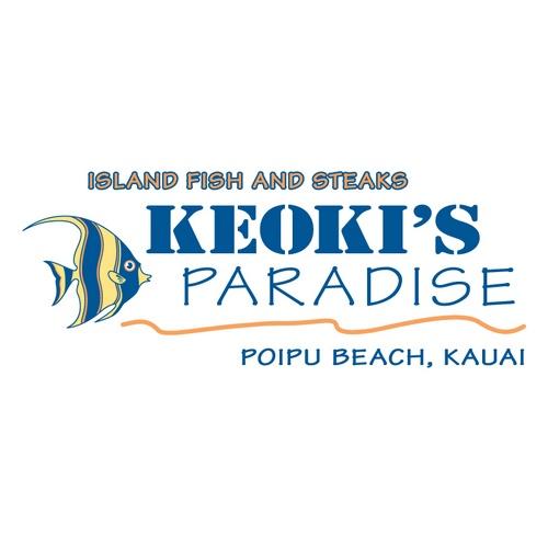 Keoki's Paradise logo